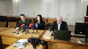 Specialioji spaudos konferencija po nuosprendžio paskelbimo: laukta provokacijų