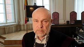 Teisėjas A.Cininas: jokios vertingos žinios savo pasirodymu kaltinamieji netransliavo