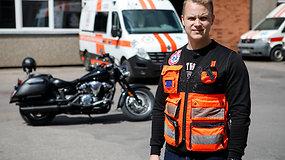 Medikas įvardijo didžiausią motociklininkų priešą ir traumas, patiriamas avarijų metu