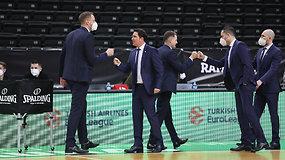 """Sankt Peterburgo """"Zenit"""" trenerio komentarai po rungtynių"""