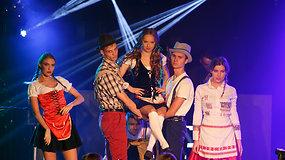 Konkurso Lietuvos ledi 2015 akimirkos