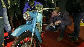 Prieš 45 metus pagamintas motociklas dar nėra ragavęs benzino skonio