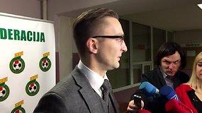 Naujojo LFF prezidento komentaras po rinkimų