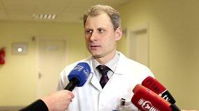 Kauno klinikų profesorius Vidas Pilvinis pasakoja apie gripą