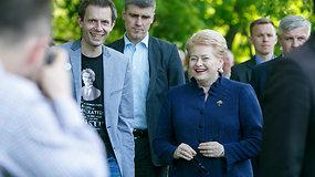 """""""Laisvės piknikas"""": tūkstančiai žmonių ir D.Grybauskaitės dėmesys"""