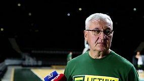 J.Kazlausko komentaras po paskutinių rinktinės draugiškų rungtynių