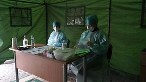 #PriešakinėseLinijose reportažas iš Šiaulių ligoninės: kaip karantino metu dirba Skubiosios pagalbos skyrius?