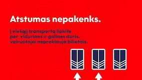 Saugantis koronaviruso svarbios ne tik kaukės: filmuke primenama, ką turi žinoti kiekvienas viešojo transporto keleivis