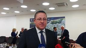 Palangos meras Š.Vaitkus apie Šventosios uostą: turėjo būti atstatytas vakar