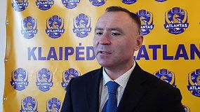KLFF prezidentas R.Žvingilas: reikia duoti šansą komandoms susilipdyti