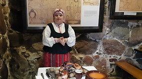 Viešnagė Kurtuvėnuose: Zoselės keptas tradicinis kumpis