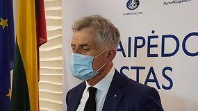 """Uosto direkcijos vadovas A. Latakas: """"Mūsų užduotis nustatyti taršos šaltinį"""""""