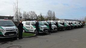Klaipėdoje pašventinti nauji policijos automobiliai
