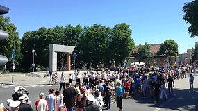Šventinė karių eisena Klaipėdoje