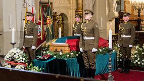 Šv. Jonų bažnyčioje – atsisveikinimas su partizanų vadu Adolfu Ramanausku-Vanagu