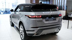 "Naujas ""Range Rover Evoque"""
