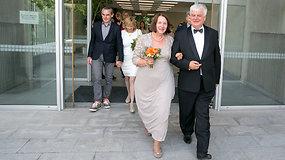 Buvusio Švietimo ir mokslo viceministro Rimanto Vaitkaus vestuvės