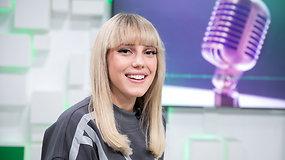 """""""Eurovizijos"""" favoritė Monique – apie dainą, įvaizdį ir konkurentus"""