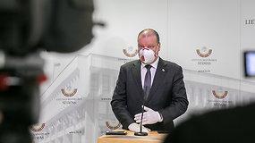 Iš Vyriausybės – komentarai apie karantino švelninimą ir koronaviruso valdymą