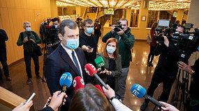 """G.Paluckas apie Seimo vicepirmininko kėdę: """"Nenorėčiau būti tvirtinamas vieno ar dviejų balsų persvara"""""""