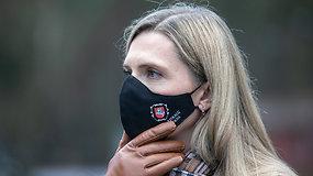 """A.Bilotaitė pasiskiepijo nuo COVID-19 """"AstraZeneca"""" vakcina"""