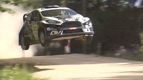 """""""Rally Estonia"""": akimirkos iš pirmosios dienos greičio ruožų"""