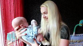 Pirmieji Lietuvoje: su persodintu inkstu gyvenanti Indrė susilaukė dvynukų
