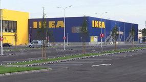 """Rygoje atidaryta antroji Baltijos šalyse """"Ikea"""" parduotuvė"""