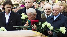 Partizanų vadas Adolfas Ramanauskas-Vanagas išlydėtas į amžinojo poilsio vietą