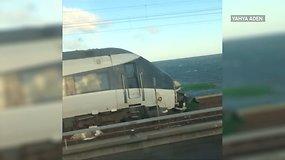 Danijoje per traukinio avariją žuvo mažiausiai 6 žmonės