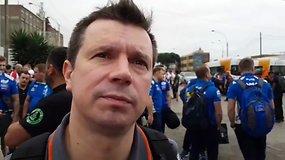 Antanas Juknevičius: svarbiausia, kad nebūtų siurprizų atsiimant Dakaro automobilį
