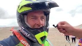 """Arūnas Gelažninkas: """"Nukritęs motociklą radau tik pagal garsą"""""""