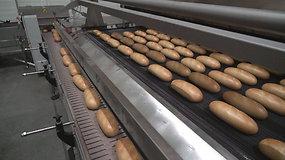 Kasdien šviežia: kaip duona kepama moderniose kepyklose
