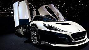 """Kroatų superautomobilis """"Rimac"""" nuo nulio iki 300 km/h įsibėgės per 11,8 sek."""