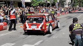 """""""Dynami:t Super Sprint"""" lenktynes laimėjo Dovilas Čiutelė su """"Lada 2104 Mustang"""" automobiliu"""