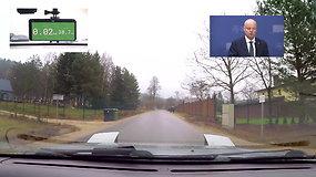 Kiek asfalto nutiesta nuo S.Skvernelio namo Vilniaus link?