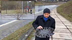 Vilniaus aplinkos tvarkytojai šiukšles metė į Nerį