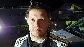 """""""Petrus racing"""" šturmanas Tomas Jančys po 11GR: """"Iš galo startavom, kopos išmaltos iki begalybės"""""""