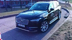 """Apžvalga: naujasis """"Volvo XC90"""""""