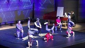"""Pirmą kartą Lietuvoje vyko """"Red Bull Flying Bach"""" šou"""