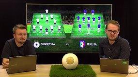"""""""Euro 2016"""" ketvirtfinalio apžvalga: Vokietija - Italija"""