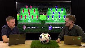 """Žvelgiantiems giliau: """"Euro 2016"""" finalo apžvalga. Portugalija – Prancūzija"""