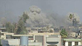 Irako pajėgos atkovojo iš džihadistų Mosulo muziejų ir pagrindinius vyriausybinius pastatus