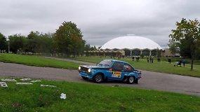 """""""DHL Rally Elektrėnai"""": Pirmasis greičio ruožas"""
