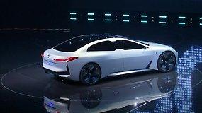 Frankfurto automobilių parodoje pristatyti naujausi BMW modeliai