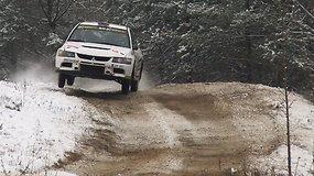 """Utenos apylinkėse praūžė """"Winter rally 2018"""""""
