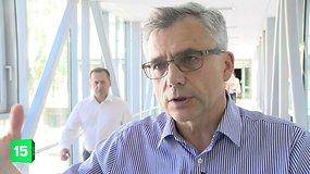 V.Poderys aiškina, kodėl jo vadovaujama komisija siūlė Vyriausybei apsvarstyti valstybinio projekto nutraukimą