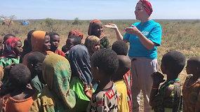 Jazzu Etiopijoje dainavo su vaikais