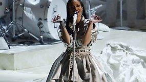 Ant MTV vaizdo klipų apdovanojimų scenos – įspūdingi pasirodymai