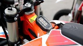 Vairuoti elektrinį motociklą – tarsi dviratį